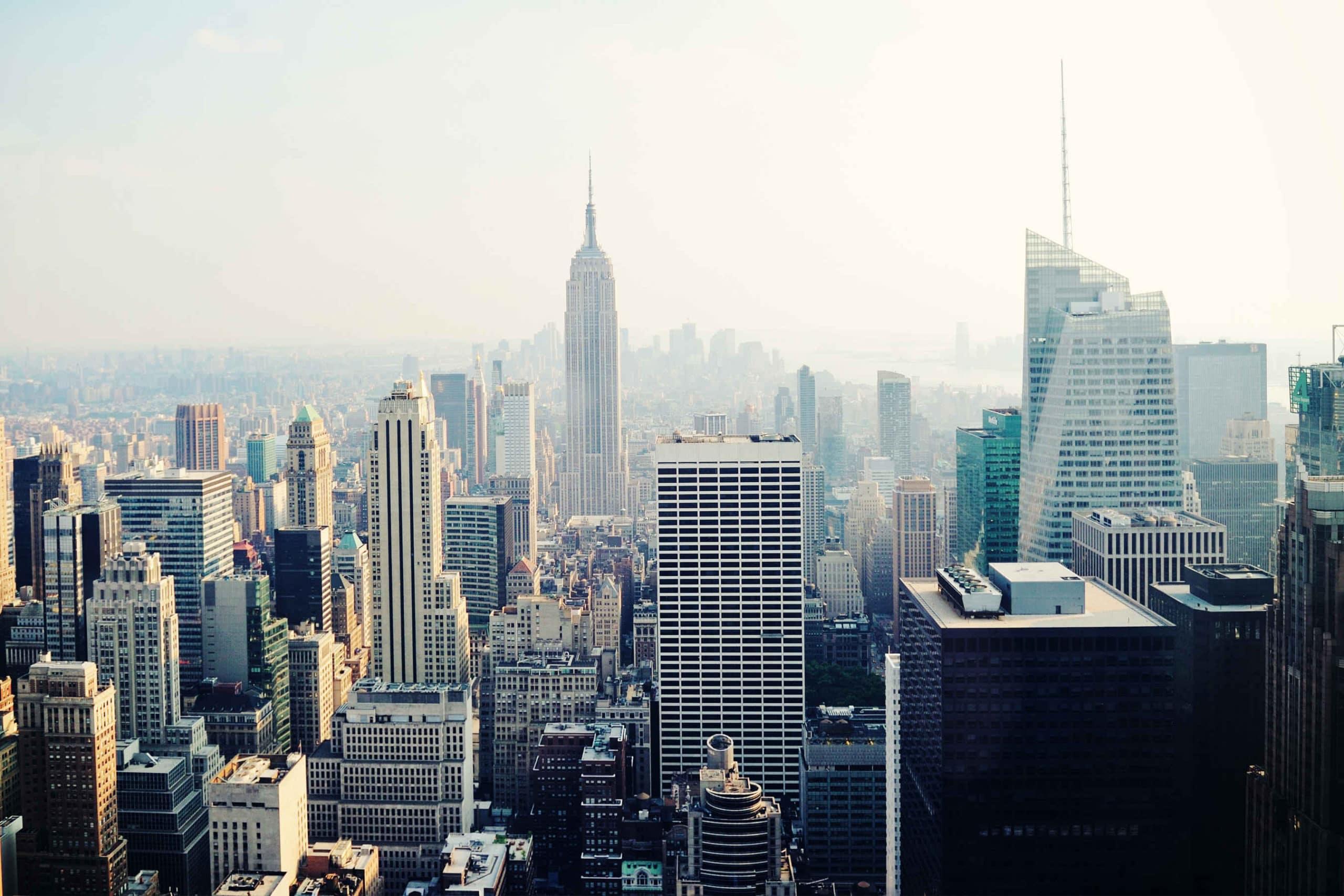 beleving new york fotobehang