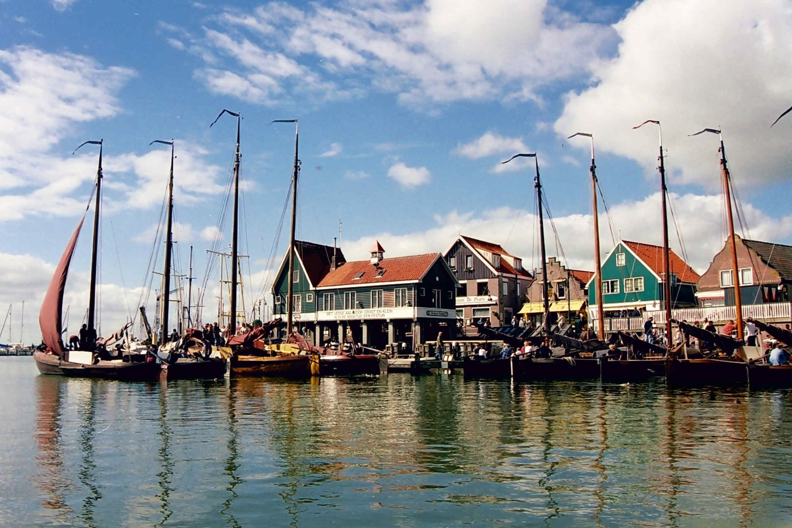 haven volendam foto behang