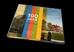 Boek met harde kaft 100 jaar Edith Stein College