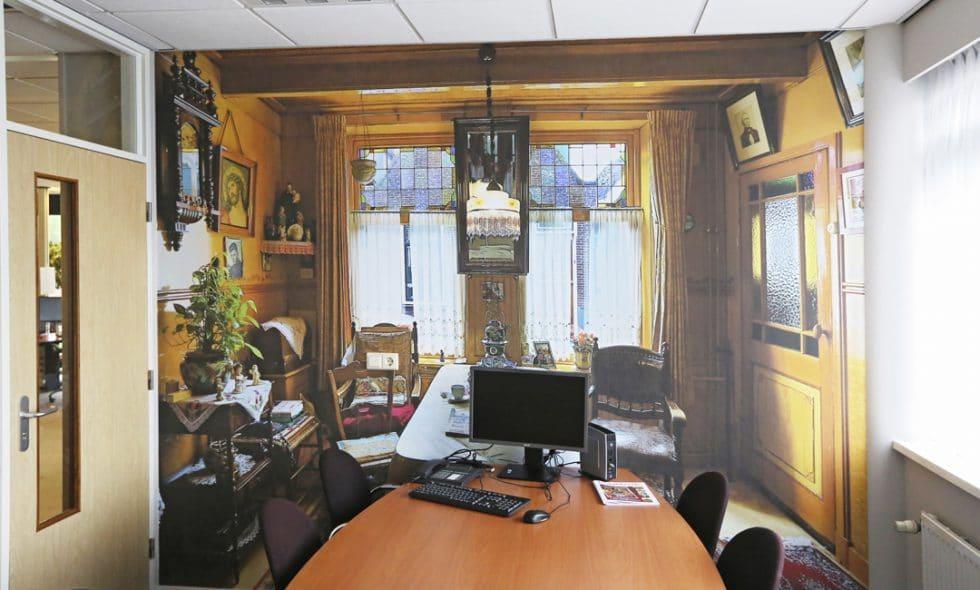 Fotobehang spreekkamer De Vooruitgang